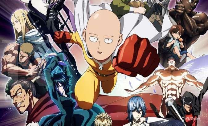 Anime One Punch Man Season 1 & 2 siap tayang di iQIYI, catat tanggalnya