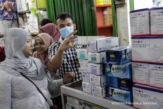 Jual masker Rp 300.000 per boks, Dirut Pasar Jaya: Ini bentuk keteledoran kami
