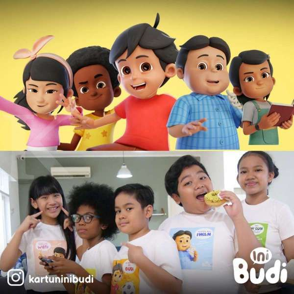 Anak usaha NFC Indonesia kembangkan animasi Si Budi