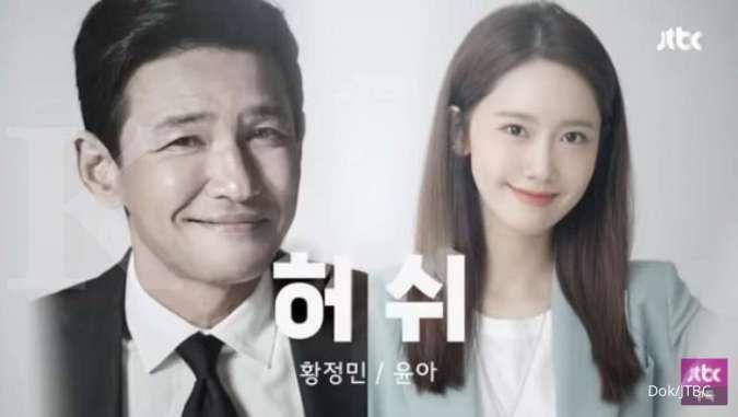 Hush, drama Korea terbaru JTBC yang menampilkan Hwang Jung Min dan Yoona SNSD.