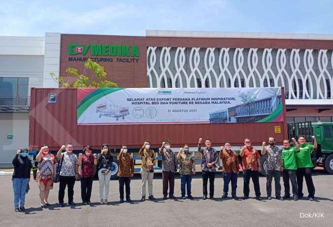 Perusahaan di KEK Kendal ekspor produknya ke Malaysia