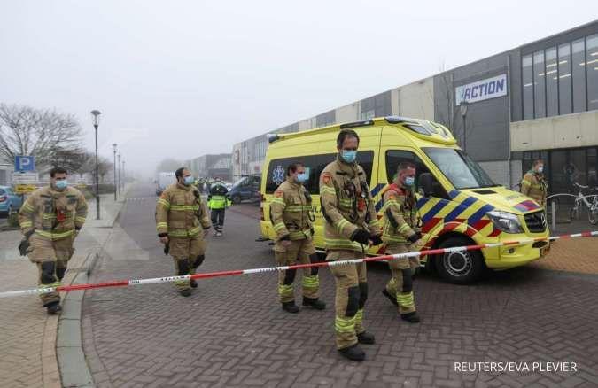 Polisi sebut sebagai serangan, ledakan guncang pusat pengujian corona di Belanda