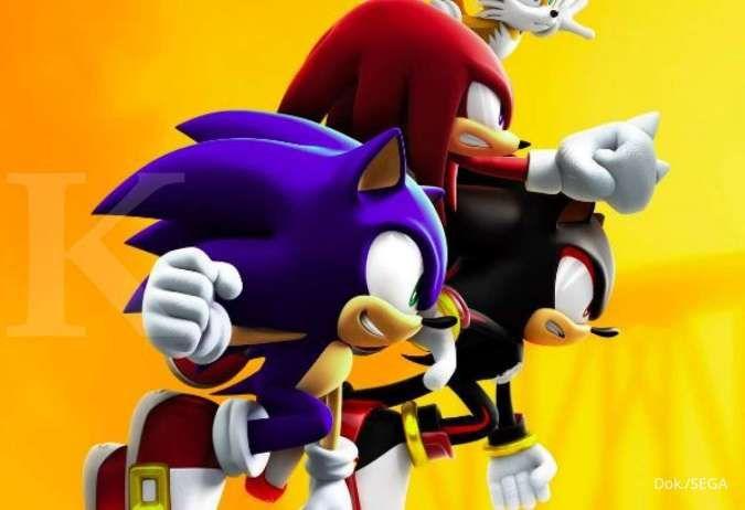ILUSTRASI: Game Sonic Forces di HP