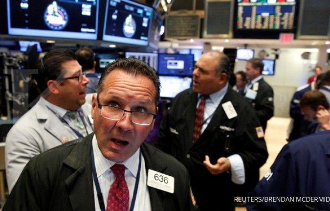 Sektor kesehatan bikin Wall Street meriang