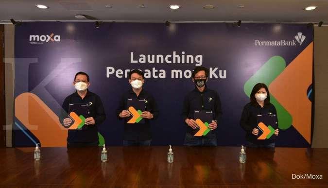 Moxa gandeng Bank Permata luncurkan layanan pembukaan tabungan Permata Moxaku