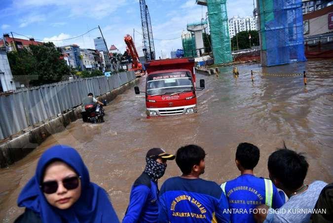 Banjir, ini jalan-jalan di Jakarta yang tidak bisa dilintasi kendaraan pagi ini