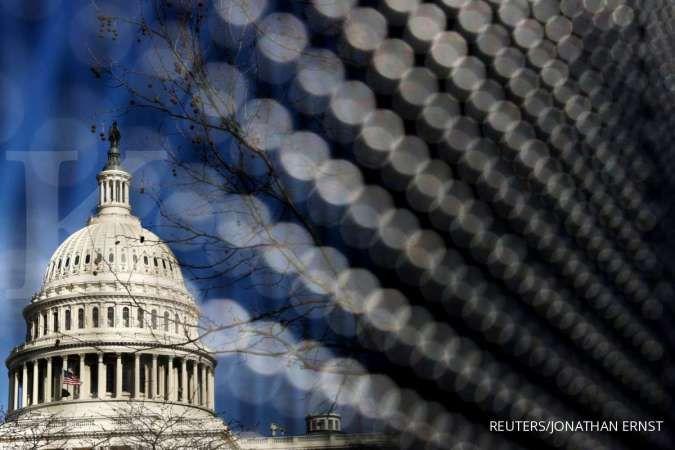 Cegah gagal bayar, parlemen AS setujui UU kenaikan pagu utang pemerintah