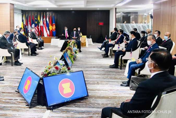 Kian hangat, China jadi tuan rumah pertemuan menteri luar negeri ASEAN