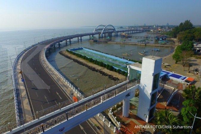 Jembatan Surabaya dibuka kembali setelah 10 bulan ditutup