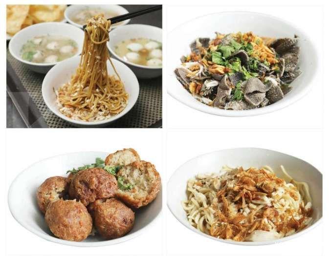 Berbagai menu yang tersedia di Resto Mie Sahabat Yun Sin di Bogor.