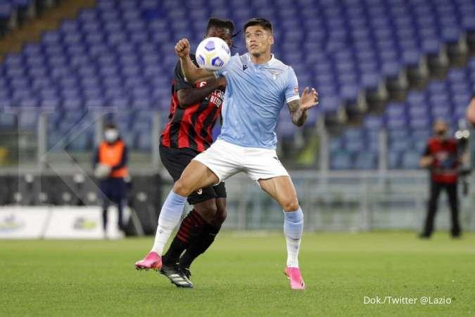 Hasil laga Lazio vs Milan di Liga Italia Serie A