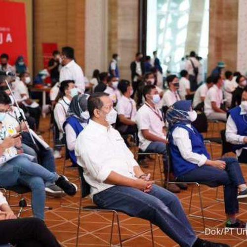 Grup Astra Dukung Vaksinasi Gotong Royong