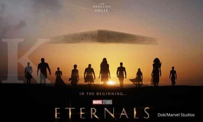 Jelang tayang pada November, film Marvel Eternals rilis video terbaru