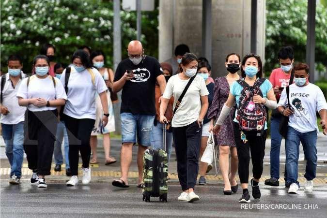 Kasus COVID-19 terus melonjak di Singapura, infeksi harian bisa tembus 1.000