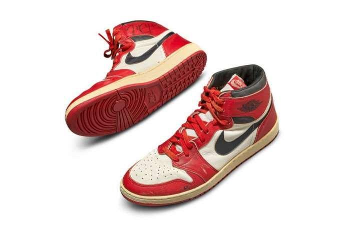 Edan, lelang sepatu Air Jordan tembus Rp 8,2 miliar