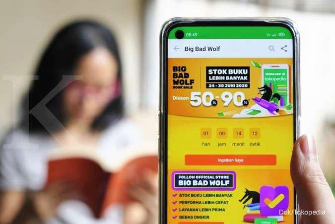 Tokopedia kembali hadirkan bazar buku online Big Bad Wolf hingga 30 Juni 2020