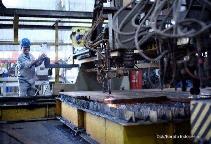 Barata Indonesia dukung fabrikasi crane untuk Makassar New Port