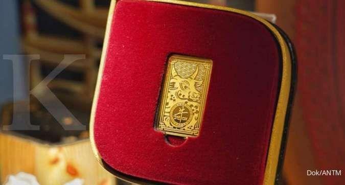 Harga mulai Rp 600.000, emas model baru dari Antam ini punya keistimewaan