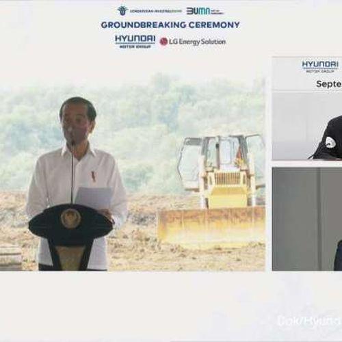 Hyundai Motor Group & LG Energy Solution Mulai Pembangunan Pabrik Sel Baterai Kendaraan Listrik di Indonesia