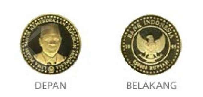 Deretan uang rupiah khusus edisi Kemerdekaan RI, ada pecahan Rp 850.000