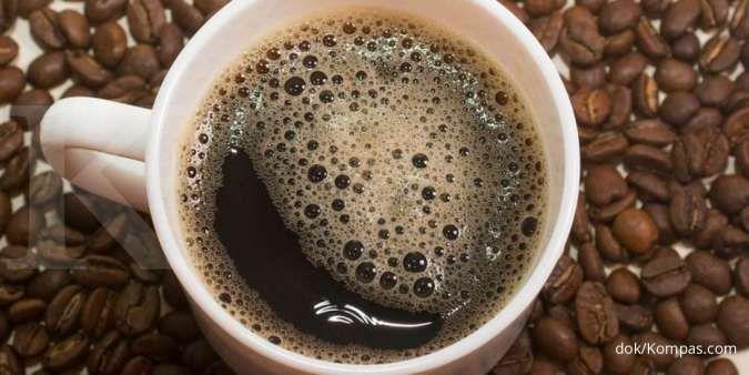Kafein dalam kopi dapat menyebabkan kedutan mata kanan atas.