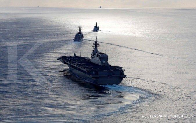 Kelompok serang kapal induk Inggris siap menuju Jepang, China bisa panas