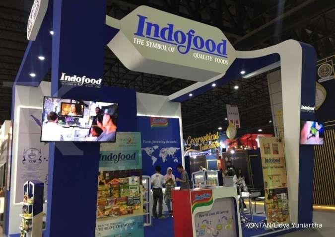 ILUSTRASI. Stan Indofood saat pameran THAIFEX-World of Food Asia