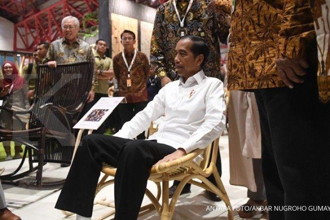 Presiden Jokowi apresiasi peningkatan kualitas produk furnitur