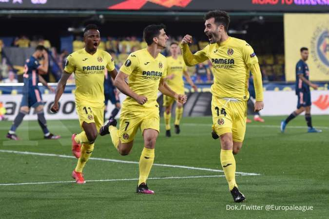 Jelang laga Arsenal vs Villarreal di Liga Europa