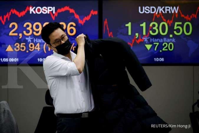 Investor menanti rilis notulen rapat The Fed, kemana arah bursa Asia hari ini?