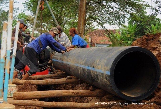 Adhi Karya dan Adaro Tirta Mandiri selesaikan SPAM tahap I-A di Dumai