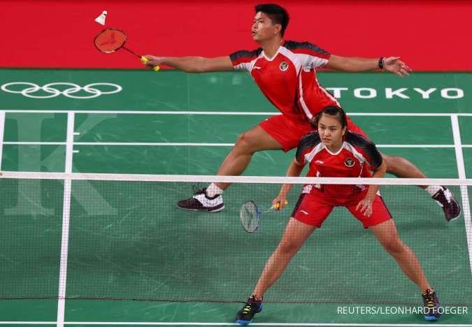 Hasil Badminton Olimpiade Tokyo 2020: Praveen/Melati kalah, lolos jadi runner up grup