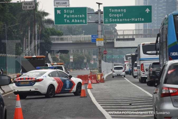 Rekayasa lalu lintas sekitar gedung DPR saat pelantikan presiden besok