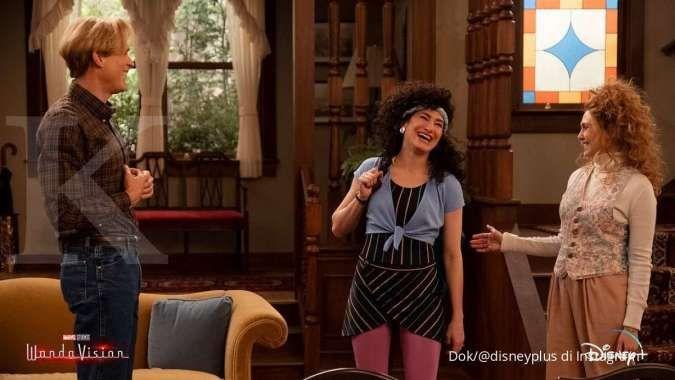 WandaVision di Disney+.