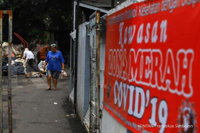 Zona merah corona 7 Februari 2021 turun, Jawa Tengah & Bali paling banyak
