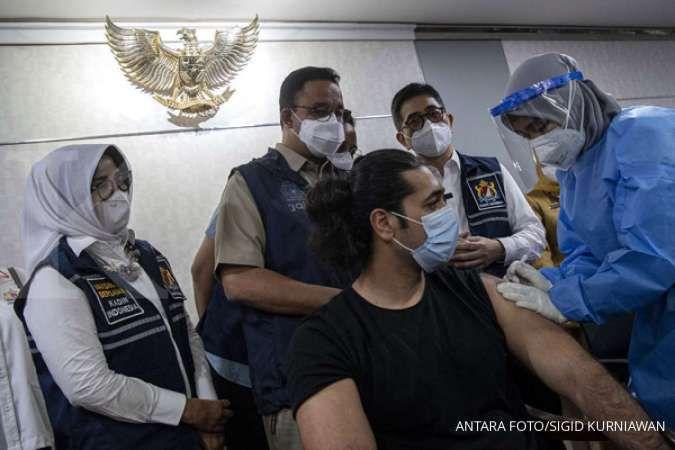 UPDATE Vaksinasi corona di Jakarta mencapai 10.124.301 penerima vaksin dosis pertama