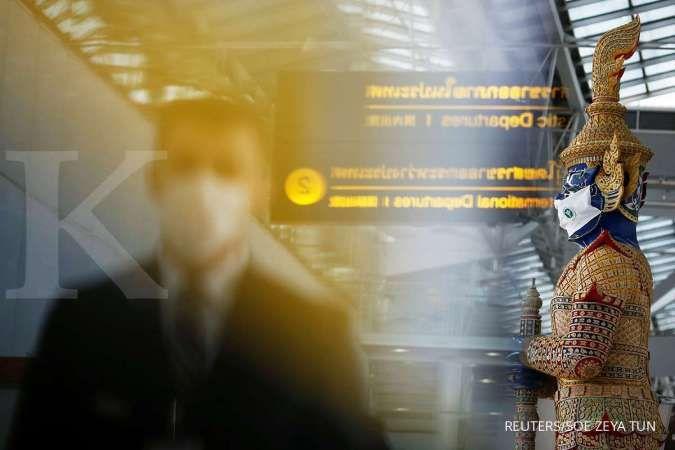 Kasus meroket, Thailand bangun rumah sakit Covid-19 di bandara Bangkok