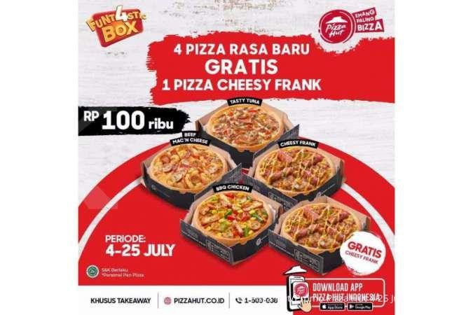 Promo Pizza Hut hari ini 22 Juli 2021: 5 Pizza hanya Rp 100.000