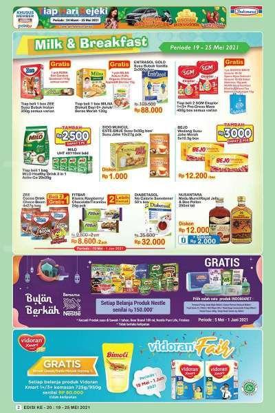 Promo JSM <a href='https://pekanbaru.tribunnews.com/tag/indomaret' title='Indomaret'>Indomaret</a> 19-25 Mei 2021