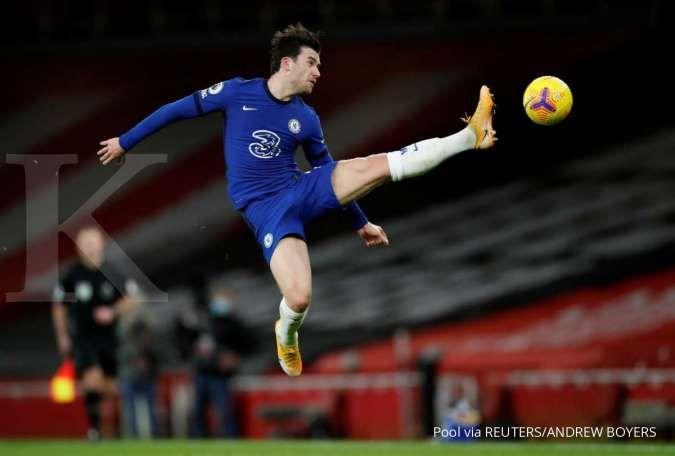 Ben Chilwell jelang laga Chelsea vs Man City