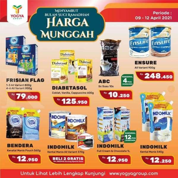 Ada program Harga Munggah di promo JSM Yogya Supermarket 11 April 2021!