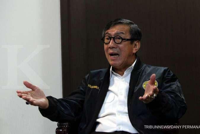 Yasonna Laoly minta SBY tak asal tuding pemerintah terkait kisruh Partai Demokrat