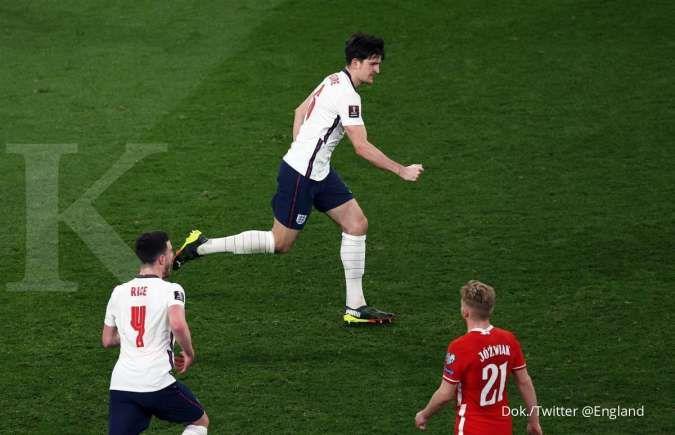 Hasil Kualifikasi Piala Dunia 2022 antara Inggris vs Polandia