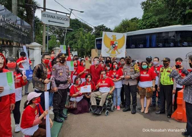 Mental di KY, nasabah WanaArtha minta Jokowi buka gembok rekening terkait Jiwasraya