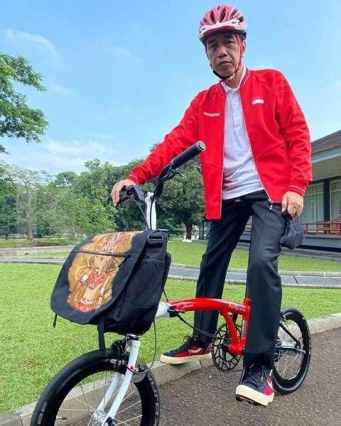 Sepeda Kreuz, sepeda Brompton dari Bandung pesanan Jokowi sudah jadi, ini tampilannya