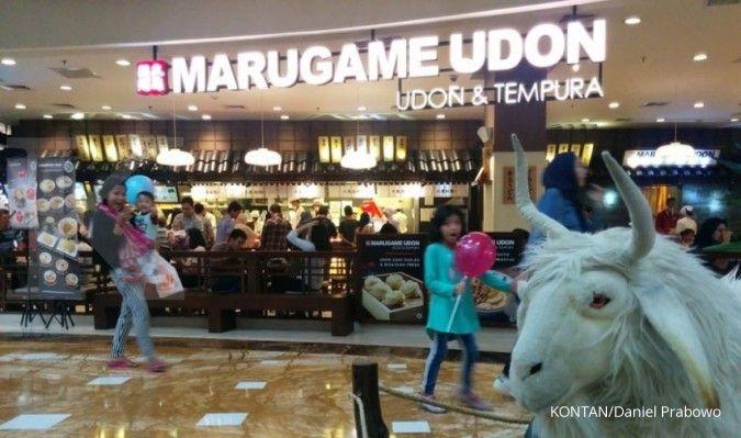 Dalam tiga tahun Marugame Udon targetkan 100 Gerai