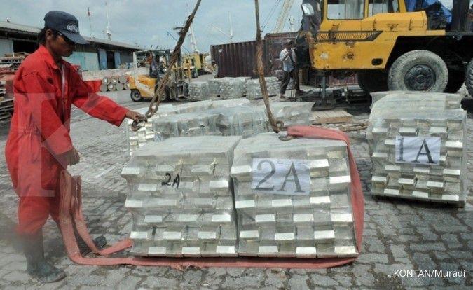 Tahun ini, Timah (TINS) targetkan penjualan 31.000 ton logam timah
