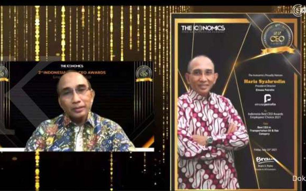 Direktur Utama Elnusa Petrofin Raih Indonesia Best CEO Awards Employee Choice 2021 dari The Iconomics