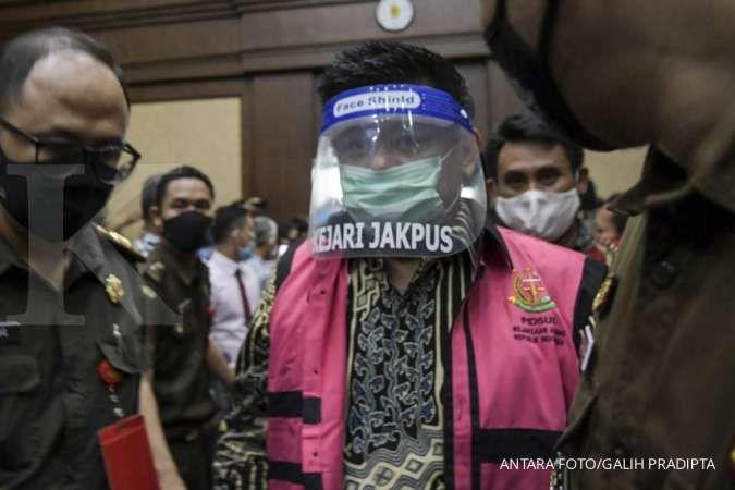 Kejaksaan Agung memeriksa terdakwa kasus Jiwasraya di KPK