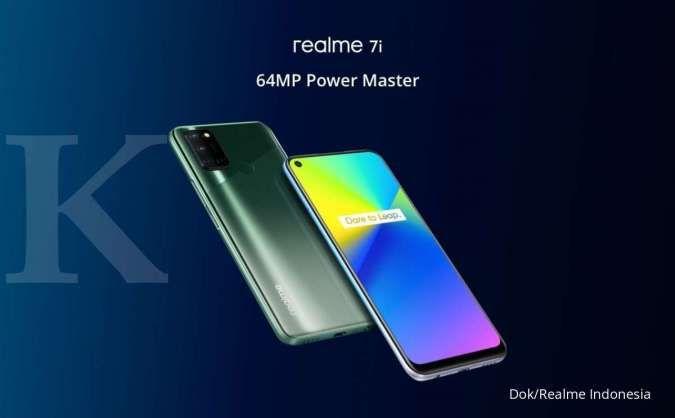 Rekomendasi HP 3 jutaan terbaik, simak spesifikasi dan harga Realme 7i berikut ini